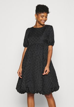 YASKYL MIDI DRESS SHOW - Cocktailjurk - black