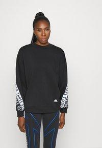 adidas Performance - WORD - Sweatshirt - black - 0