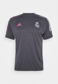 adidas Performance - REAL MADRID AEROREADY SPORTS FOOTBALL - Klubové oblečení - grey five - 4