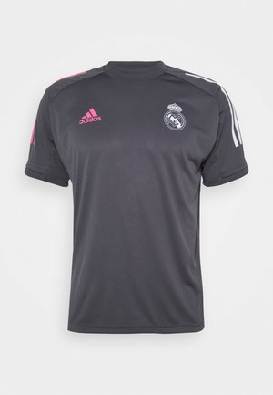 REAL MADRID AEROREADY SPORTS FOOTBALL - Artykuły klubowe - grey five