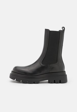 ANFIBIO ELASTICATO - Platform ankle boots - nero