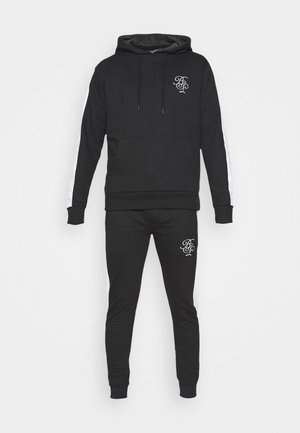 ARLO SET - veste en sweat zippée - black