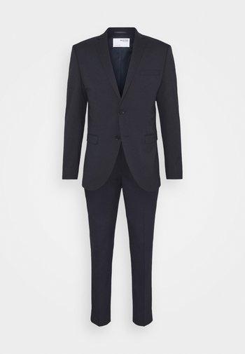SLHSLIM MYLOLOGAN CROP SUIT - Kostuum - navy blazer