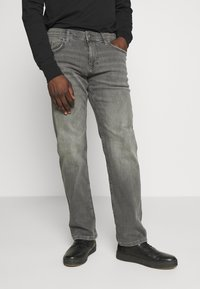 edc by Esprit - Jeansy Straight Leg - grey medium wash - 0