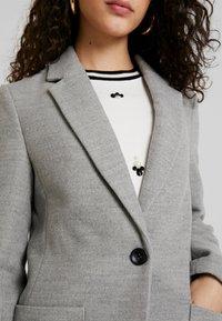 TWINTIP - Classic coat - grey melange - 5