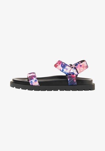Sandales à plateforme - multi coloured