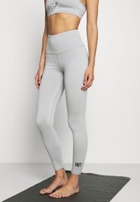 HIIT - LOXY RUCHED LEGGING - Tights - mid grey - 0