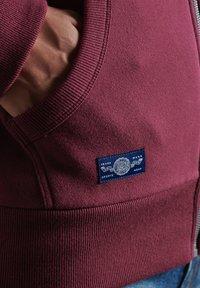Superdry - Zip-up hoodie - deep port - 2