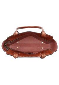 The Bridge - ELEONORA SCHULTERTASCHE LEDER 30 CM - Handbag - marrone - 4