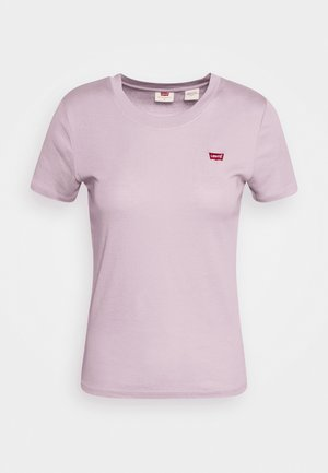 BABY TEE - T-shirt med print - lavender frost