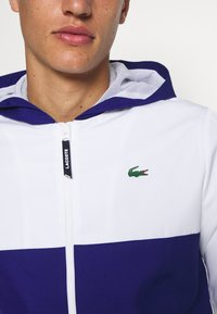 Lacoste Sport - TENNIS JACKET - Trainingsvest - white/cosmic-green - 5