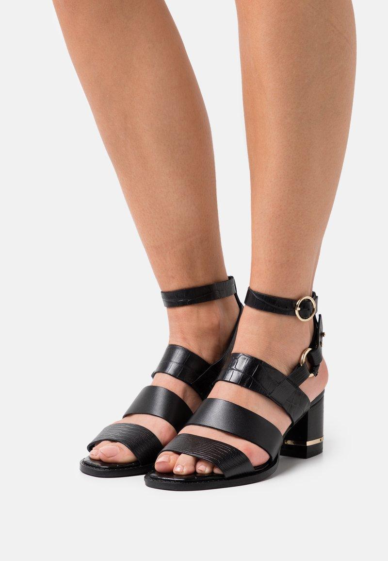 ASRA - JUSTINE - Sandals - black