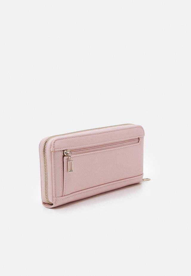 AMBROSE LARGE ZIP AROUND - Portefeuille - blush
