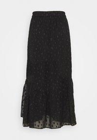 PIECES Tall - PCPERSILLA MIDI SKIRT - A-line skirt - black - 1