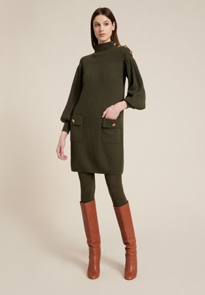 MERCATALE - Jumper dress - verde militare