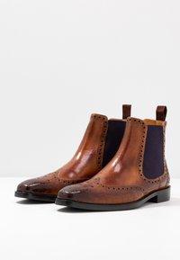 Melvin & Hamilton - MARTIN - Classic ankle boots - tan/purple/brown - 2