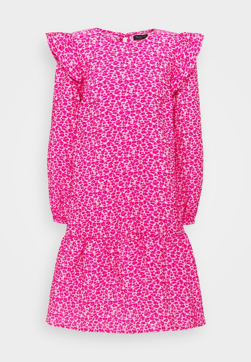 Selected Femme - SLFJACKIE DRESS - Vardagsklänning - very berry