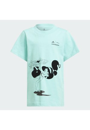 DISNEY COMFY PRINCESSES TEE - T-shirt print - green