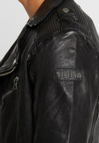 Tigha - JAMES - Veste en cuir - black - 6