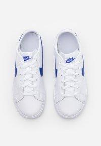 Nike Sportswear - BLAZER  - Zapatillas - white/astronomy blue - 3