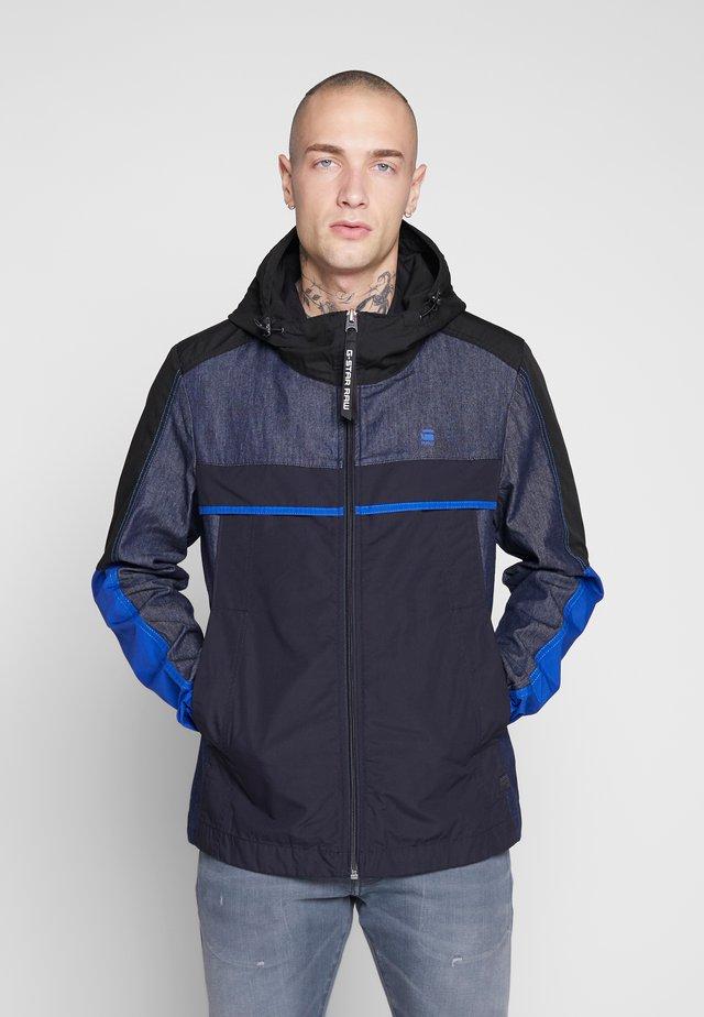 DENIM MIX HDD JKT - Denim jacket - mazarine blue