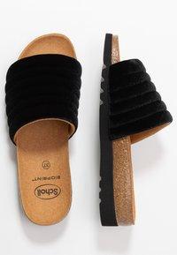 Scholl - MYA  - Domácí obuv - black - 3