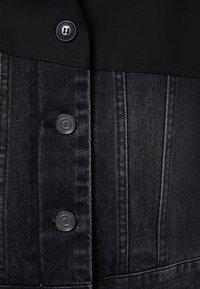 Desigual - KEREM - Giacca di jeans - black - 5