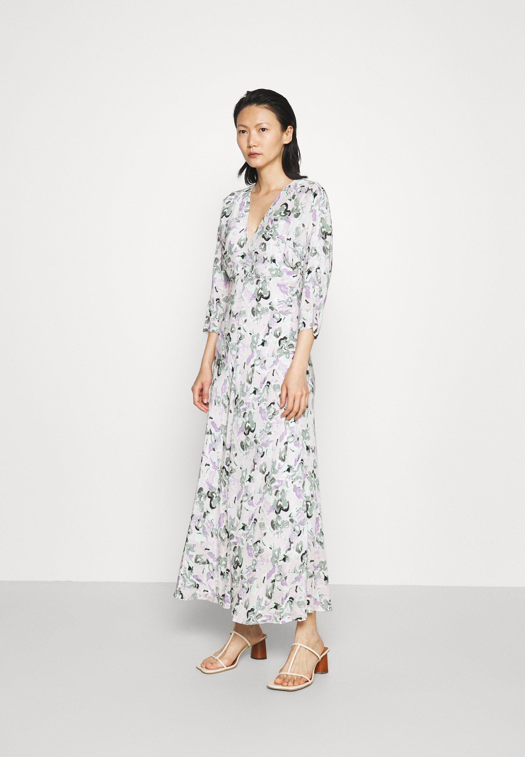 Mujer DRAPE SLEEVE DRESS - Vestido informal