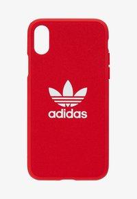 adidas Originals - MOULDED CASEFOR IPHONE X/ IPHONE XS  - Telefoonhoesje - scarlet - 1