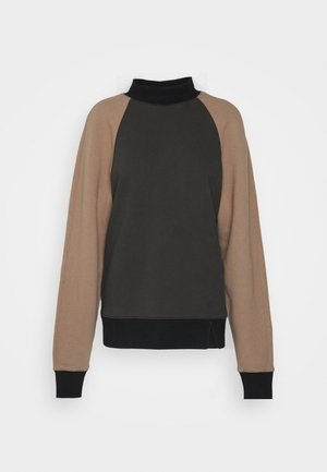 EBOR  - Sweatshirt - olive/tan/black