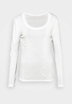 SORANA  - Long sleeved top - milk