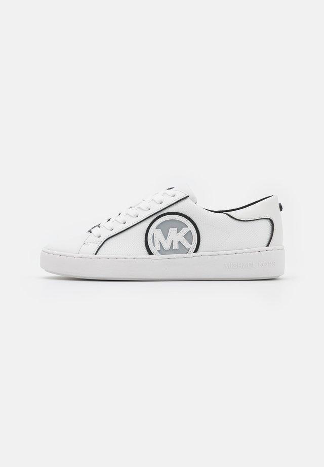 KEATON  - Sneakers laag - black/optic white