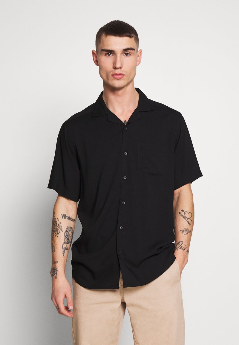 Only & Sons - ONSSILO SOLID REG  - Overhemd - black