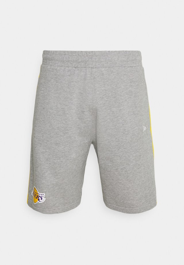 LOS ANGELES LAKERS NBA SIDE PANEL SHORT - Club wear - grey