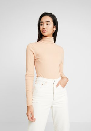 LANGARM BODYSUIT BASIC - Long sleeved top - nude