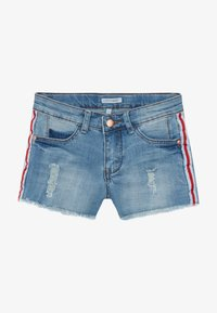 Lemon Beret - TEEN GIRLS - Denim shorts - medium blue - 3