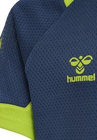 Hummel - Print T-shirt - dark denim - 3