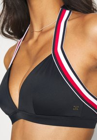 Tommy Hilfiger - CORE SIGNATURE TRIANGLE FIXED - Bikini top - desert sky - 3