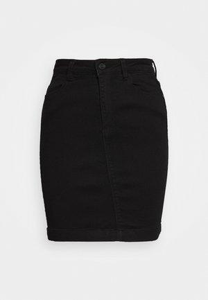 SUPER STRETCH SKIRT - Pouzdrová sukně - black