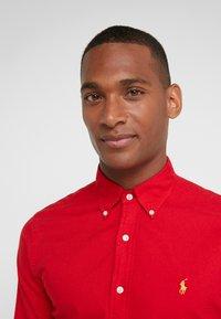 Polo Ralph Lauren - OXFORD SLIM FIT - Skjorta - red - 3