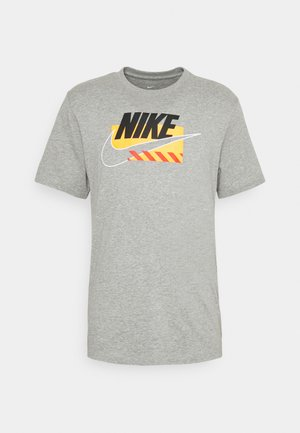 TEE BRANDMARKS - Camiseta estampada - grey heather/black