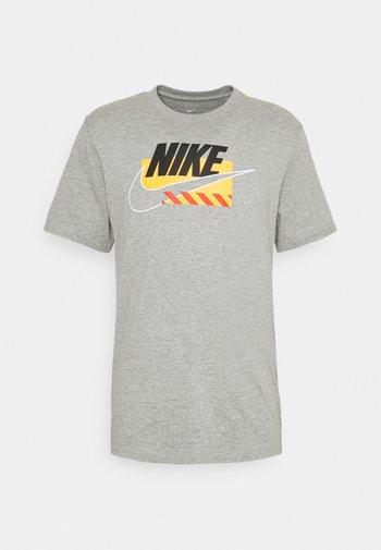 BRANDMARKS - Camiseta estampada - grey heather/black