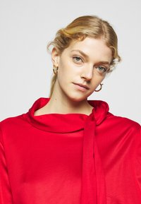 MM6 Maison Margiela - Jersey dress - red - 4