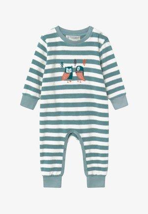 RETRO BABY ROMPER - Pyjama - stone blue