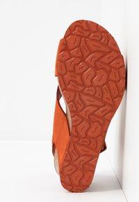 Panama Jack - VALESKA BASICS - Sandály na platformě - rostbraun - 6