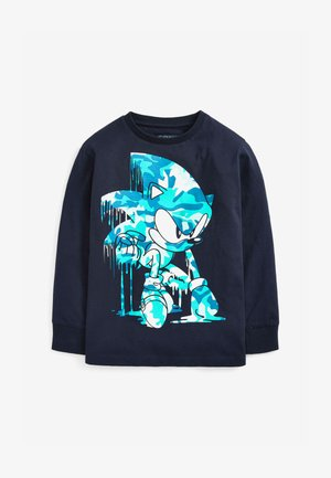 SONIC LONG SLEEVED T-SHIRT - Long sleeved top - dark blue