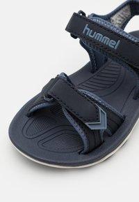 Hummel - SPORT UNISEX - Sandali da trekking - black iris - 5