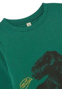 Tom Joule - SLIM FIT LANGÄRMLIGES - Print T-shirt - grüner dino - 2