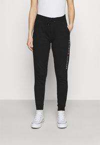 Tommy Hilfiger - ORIGINAL CUFFED PANT - Pyjama bottoms - black - 0