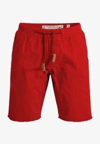 INDICODE JEANS - CARVER - Denim shorts - red - 3